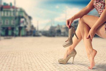 štikle, stopala