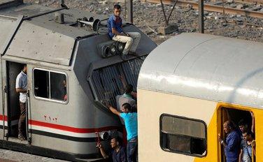 Željeznička nesreća, Egipat