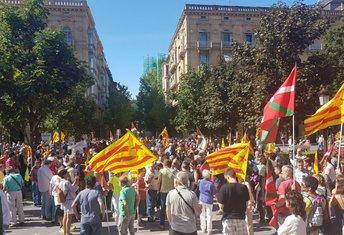 Baskija, protest