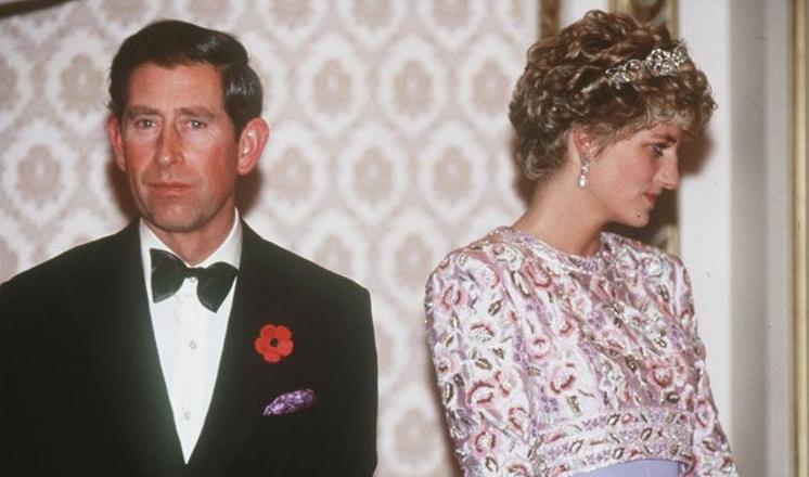Princ Čarls, Princeza Dajana