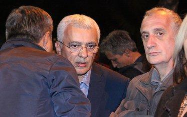 protest DF, Andrija Mandić, Predrag Bulatović