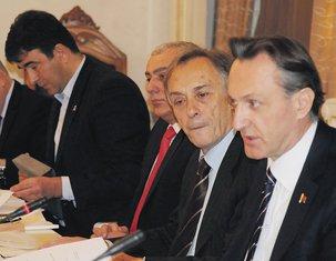Nebojša Medojević, Andrija Mandić, Miodrag Lekić, Ranko Krivokapić