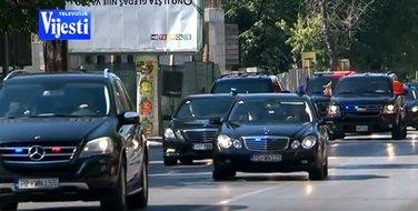 Majk Pens, obezbjeđenje, Podgorica