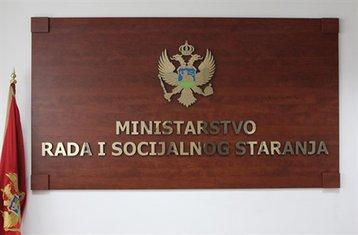 ministarstvo rada i socijalnog staranja