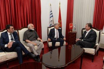 Slavoljub Stijepović, Princ Nikola Petrović, Dimitrije Popović