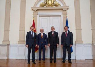 Bakir Izetbegović, Srđan Darmanović, Dragan Čović, Mladen Ivanić