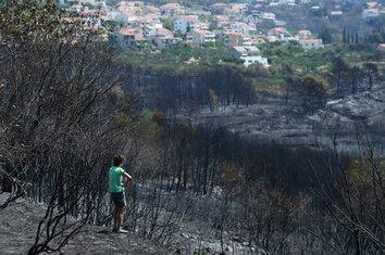 požar Split, požar Hrvatska