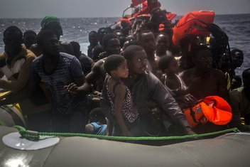 nesreća, migranti