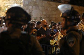 Izrael, policija, Palestinci