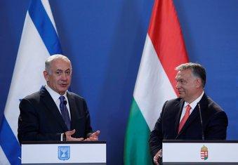 Benjamin Netanjahu, Viktor Orban