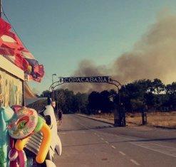 požar Ulcinj, Ulcinj požar, kopakabana
