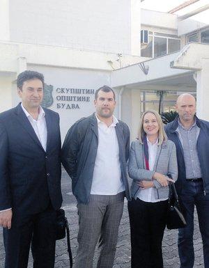 Dragan Krapović, Božena Jelušić, Marko Carević