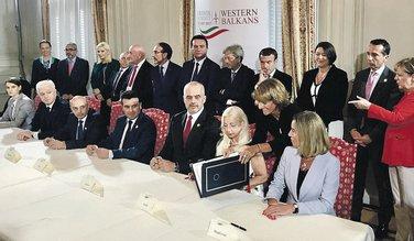 Lideri regiona i EU, Trst