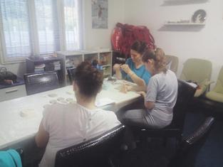 Nata Anđelić, keramičarska radionica