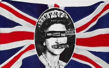 "Omot albuma ​Sex Pistolsa ""God Save the Queen"""