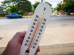 vrućina, temperatura