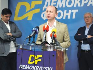 Andrija Mandić, Milan Knežević, Nebojša Medojević