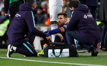 Povreda protiv Valensije: Leo Mesi