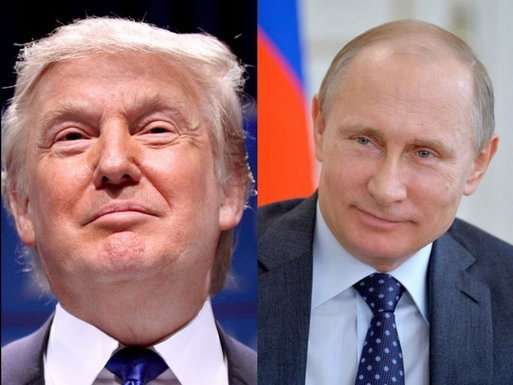 Donald Tramp Vladimir Putin