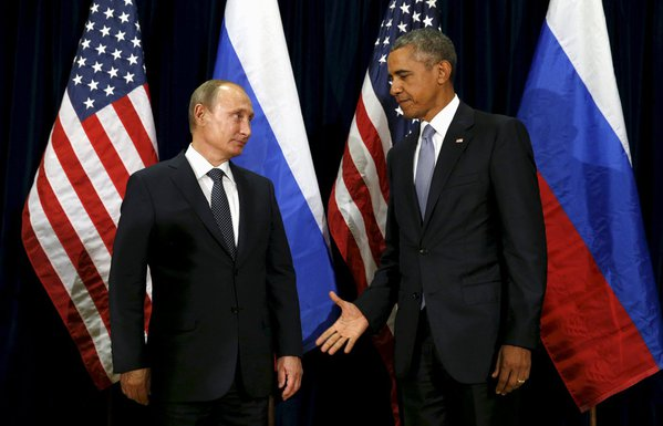 Vladimir Putin, Barak Obama
