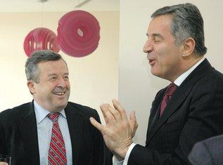 Veselin Vukotić, Milo Đukanović