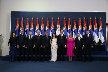 Aleksandar Vučić inauguracija