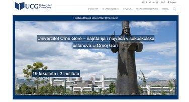 UCG, sajt