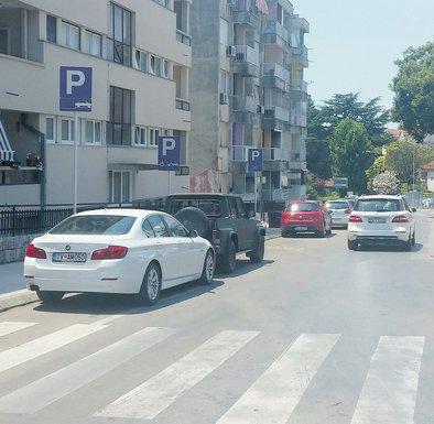 parking sistem tivat