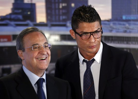 Kristijano Ronaldo i Florentino Peres