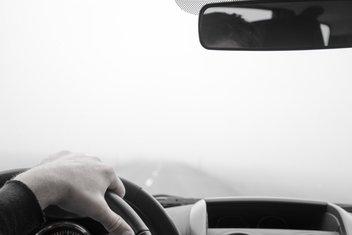 Vožnja, magla