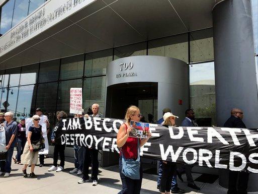 Njujork, antinuklearni aktivisti