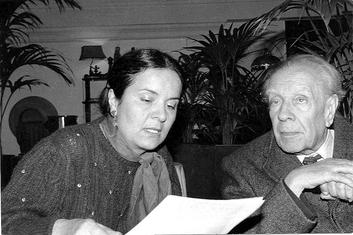 Branka Bogavac, Horhe Luis Borhes