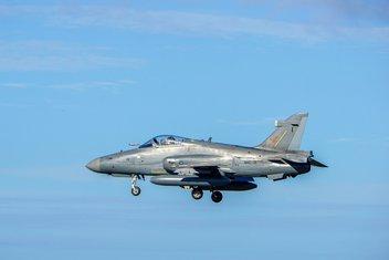 Malezija, vojni avion