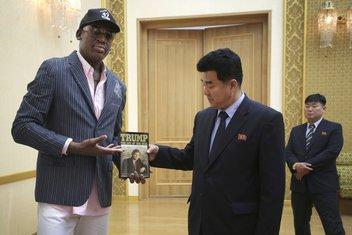 Denis Rodman, ministars sporta Sjeverne Koreje