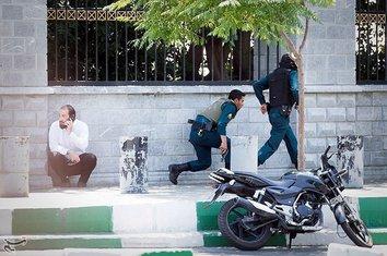 Iran, napad