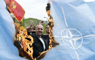 paljenje zastave NATO