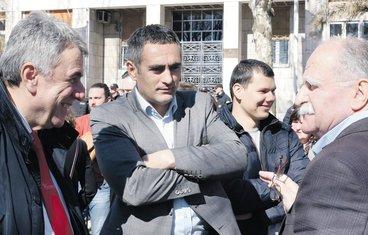 Neven Gošović, Aleksandar Damjanović, protest majki