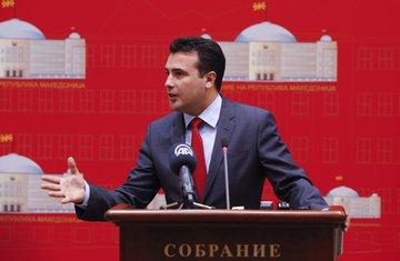 Makedonija protesti, Zoran Zaev