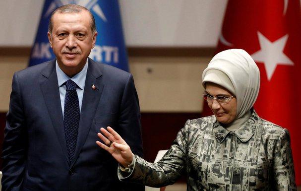 Radžep Tajip Erdogan, Emina Erdogan
