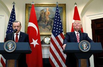 Redžep Tajip Erdogan, Donald Tramp