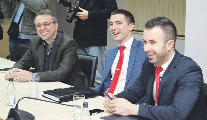 Goran Danilović, Aleksa Bečić, Boris Bogdanović
