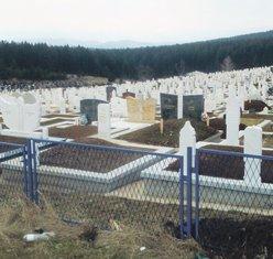 muslimanski dio groblja Pljevlja