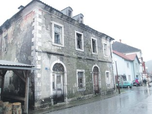 Kolašin stare građevina