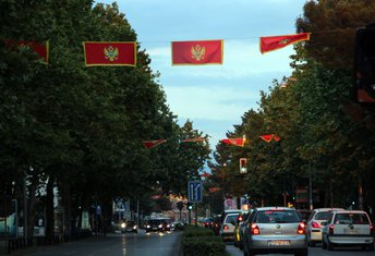 Crna Gora, zastave