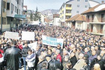 protest žrtava tranzicije