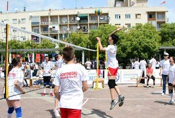 Balkan volleyball kids festival