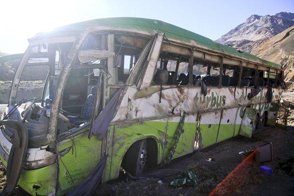 Autobus, nesreća, Argentina