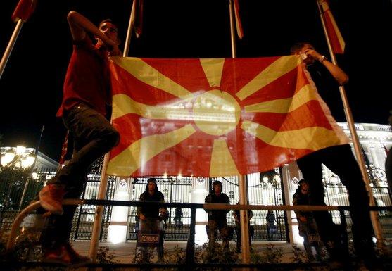Makedonija, protest