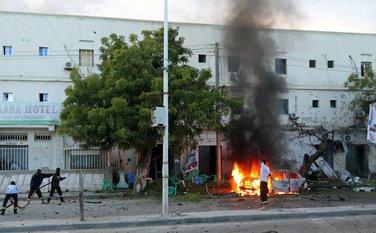 Somalija, Mogadišu, napad