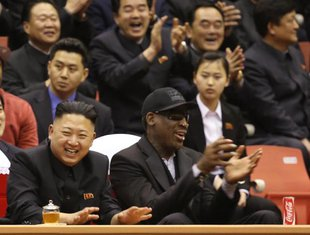 Denis Rodman, Kim Džong Un